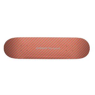 HAMbyWG - Skateboard - Oranje Diagonale Strepen