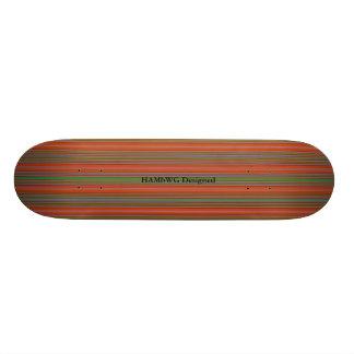 HAMbyWG - Skateboard - Strepen O/A/G