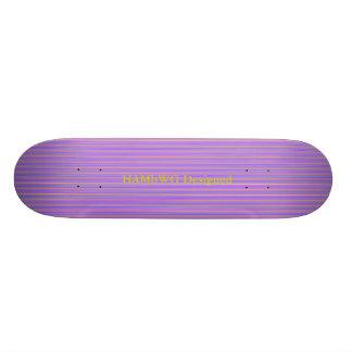 HAMbyWG - Skateboard - Violette Strepen