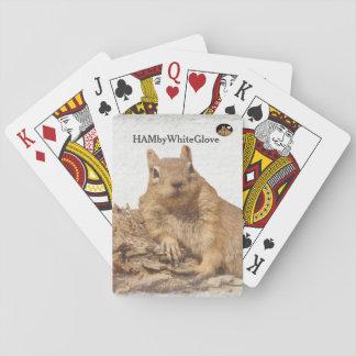 HAMbyWG - Speelkaarten - Eekhoorn HAMbWG