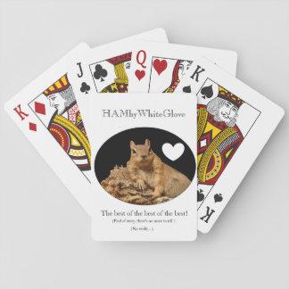 HAMbyWhiteGlove - Speelkaarten - Eekhoorn w/Heart