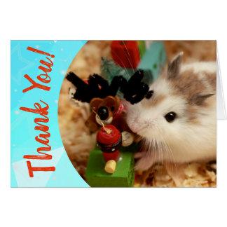 Hammyville - de Leuke Hamster dankt u Kaart