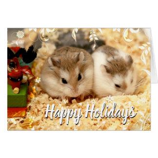Hammyville - het Paar van Hamsters Kaart