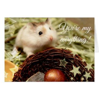 Hammyville - Leuk Hamster en Nest Kaart