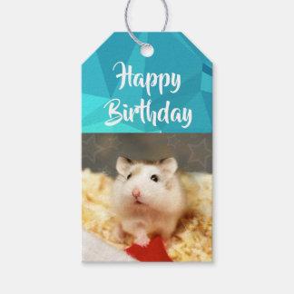 Hammyville - Leuke Hamster Cadeaulabel