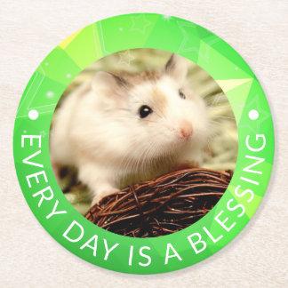Hammyville - Leuke Hamster Robo Ronde Onderzetter
