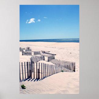 Hamptons dunes3 poster