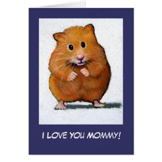HAMSTER: Ik houd van u Mama! Briefkaarten 0