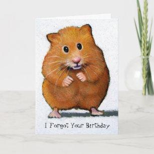 Hamster Verjaardagskaarten Zazzle Nl