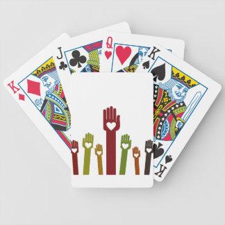 Hand2 Bicycle Speelkaarten