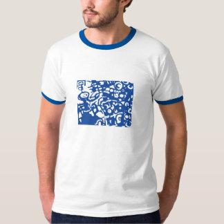 Hand Blauw T Shirt