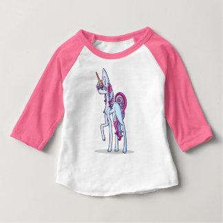 Hand-drawn eenhoorn van Nice Baby T Shirts