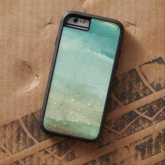 hand geschilderde waterkleur tough xtreme iPhone 6 hoesje