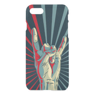 hand rots iPhone 8/7 hoesje