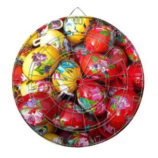 Hand-schilderen-Pasen-eieren Dartbord