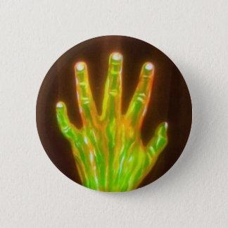 Hand van de knoop van de Glorie Ronde Button 5,7 Cm