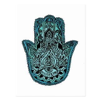 Hand van Fatima Briefkaart
