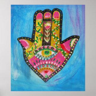 Hand van Fatima Painting POSTER