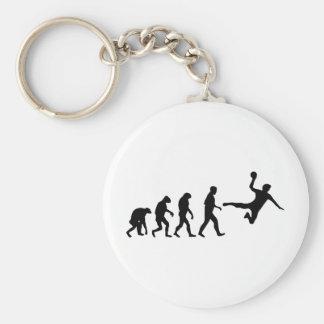 handbal evolutie sleutelhanger