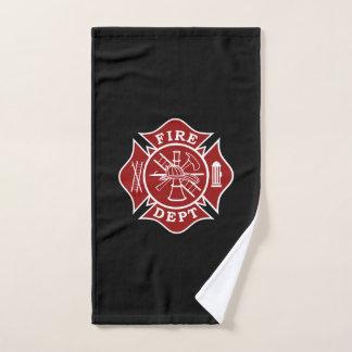 Handdoek van de Hand van de brandbestrijder de