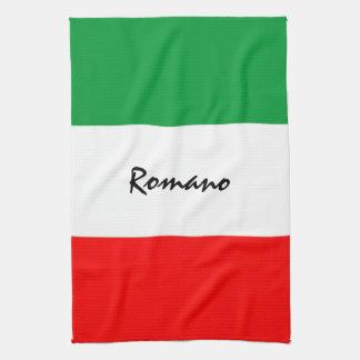 Handdoek van de Keuken van de Vlag van de douane