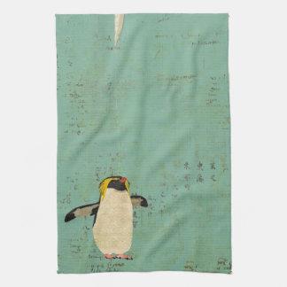 Handdoek van de Lagune van de pinguïn de Blauwe