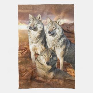 Handdoeken van de Keuken MoJo van het Trio van wol