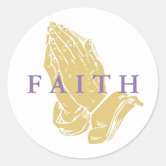 Handen van de Stickers van het Gebed
