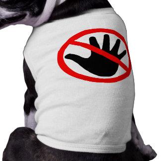 Handen weg t-shirt