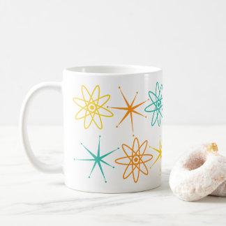 Handige jaren '50 - atomen en sterrenmok koffiemok