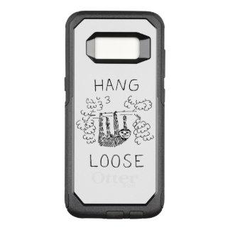 Hang Losse Luiaard OtterBox Commuter Samsung Galaxy S8 Hoesje
