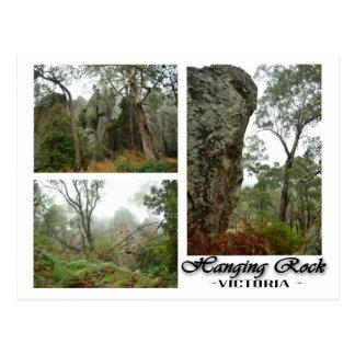 Hangende Rots, het Briefkaart van Victoria,
