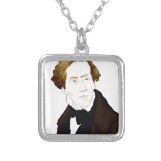 Hans Christian Andersen Zilver Vergulden Ketting