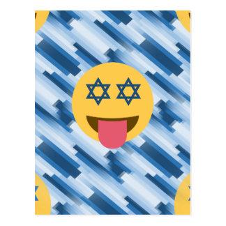 hanukkah chanukkah emoji briefkaart