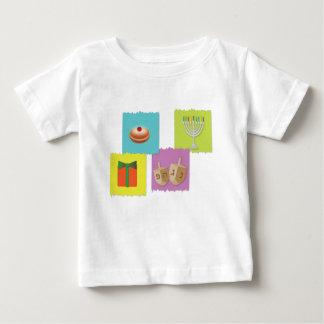 hanukkah wenskaartachtergrond baby t shirts