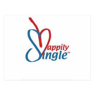HappilySingle™ Briefkaart
