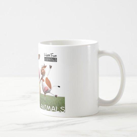 Happy Farm Animal Coffee Mug - Isaak Koffiemok