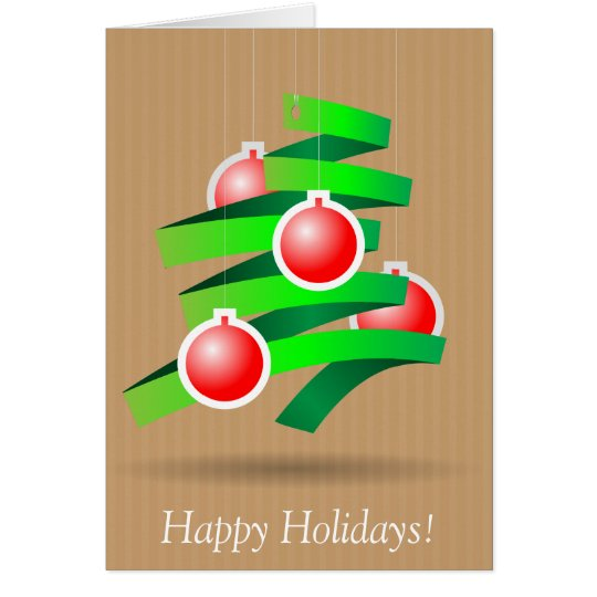 Happy Holidays Briefkaarten 0