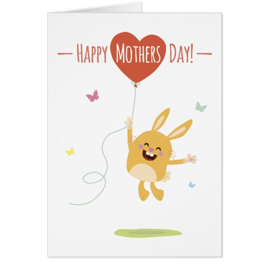 Happy Mothers Day Greeting Card Briefkaarten 0
