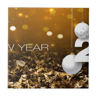 Happy-New-Year #2 Keramisch Tegeltje