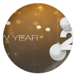 Happy-New-Year Melamine+bord