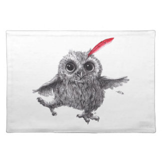 Happy Owl Placemat