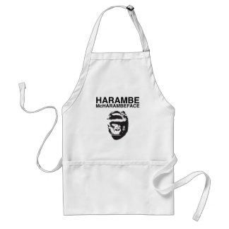 Harambe McHarambeface Standaard Schort