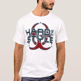 Hard is Mijn Stijl | hardcore muziekgenres T Shirt