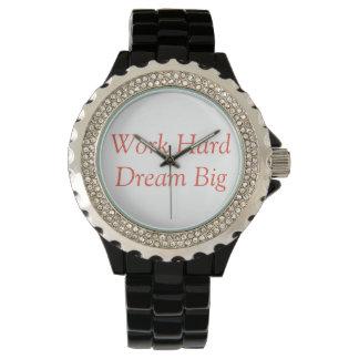 Harde het werk, droomt Groot - let op voor Horloge