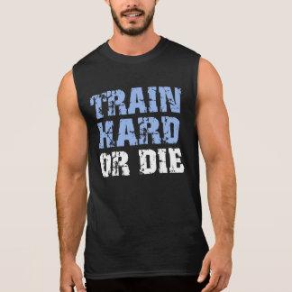 Harde trein of (blauwe) Matrijs T Shirt