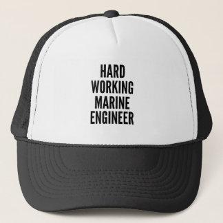 Harde Werkende Mariene Ingenieur Trucker Pet