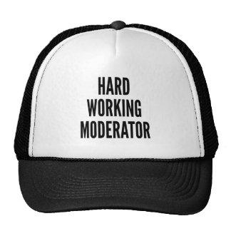 Harde Werkende Moderator Trucker Pet