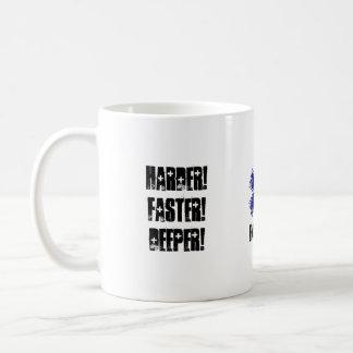 Harder sneller Diepere Rust die neer over CPR Koffiemok