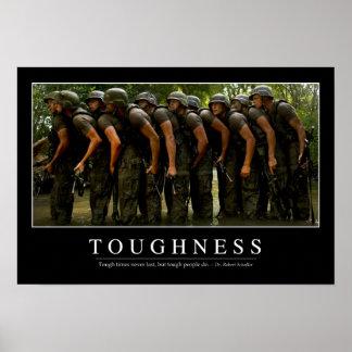 Hardheid: Inspirerend Citaat 2 Poster